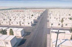 Έργο υποδοχής κοντέινερ για συριiούς πρόσφυγες