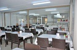 Προκατασκευασμένες αίθουσες φαγητού